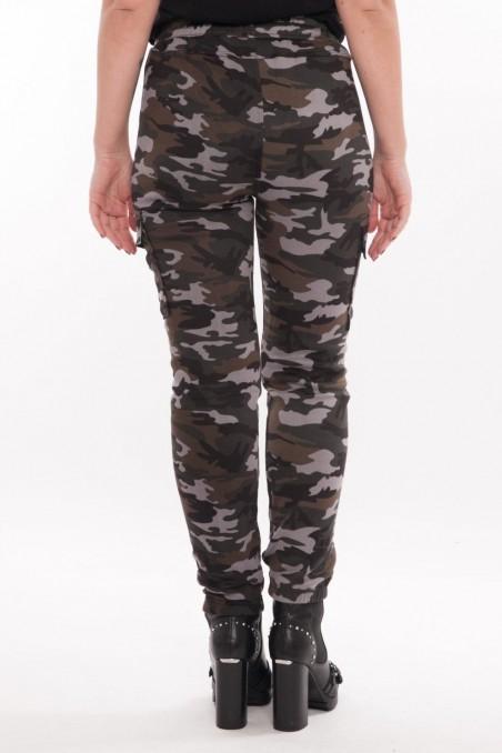 Pantaloni army îmblăniți – Gri