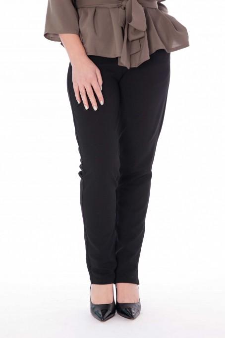 Pantaloni drepți - Negru