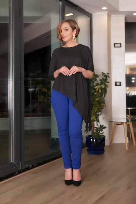 Pantaloni conici - Albastru
