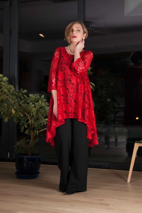 Compleu cu pantaloni Dolores - Rosu