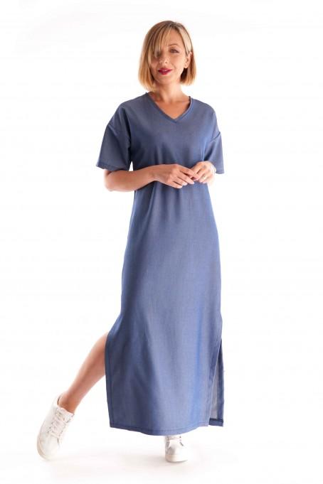 Rochie de blugi dreaptă